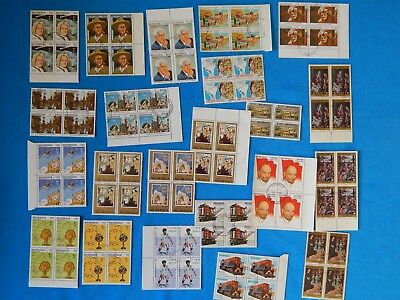 NM Collections- Great Collection of different World Wide Blocks of Stamps Lot 33