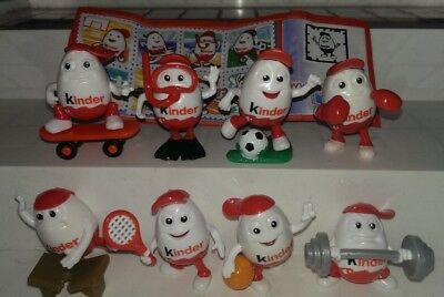 Kinder 2014, Kinderino Sport, Italy, compl. set with all Bpz