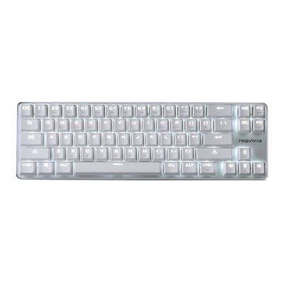 93eecfe0d36 Qisan Gaming Keyboard Mechanical Wired Cherry MX Red Switch Backlight.