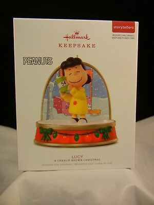 Hallmark Keepsake Ornament 2018 Lucy - A Charlie Brown Christmas NIB