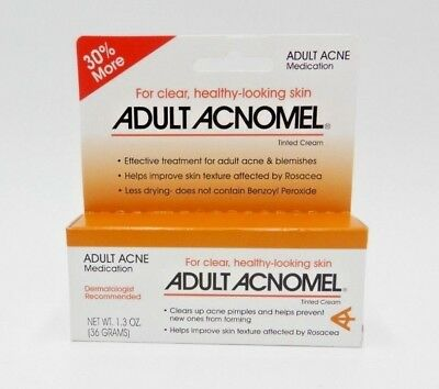 3PK  Acnomel Adult Acne Medication 1.3oz 038485911610YN