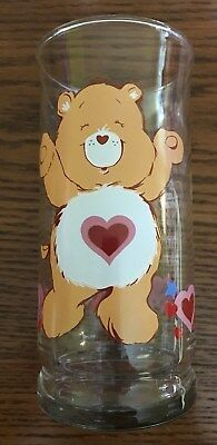 Vintage 1983 TENDERHEART CARE BEAR GLASS American Greeting Collector