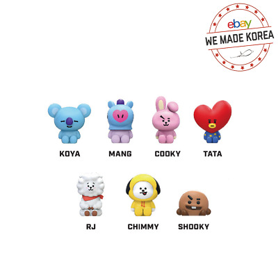 BTS BT21 Character Monitor Mini Figure PVC 41x21x36mm Official Kpop Authentic MD