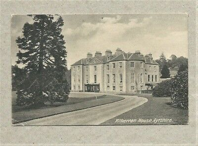 Vintage Unused Postcard - Kilkerran House, Ayrshire
