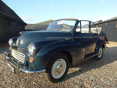 1965 MORRIS MINOR 1000 CONVERTIBLE [ground up rstored]