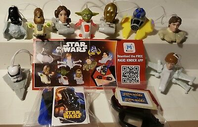 Kinder 2016, Star Wars, compl. set with all Bpz
