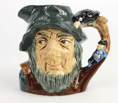 Splendid RIP VAN WINKLE D6463 VINTAGE Royal Doulton Character Toby Collectable
