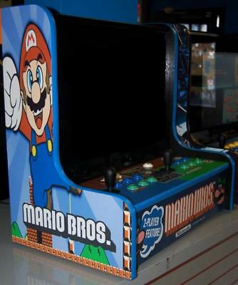 BarTop Jamma Cabinet Multiple Game Arcade! MARIO, Street Fighter, Simpsons X-Men