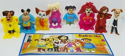 Kinder 2018, Barboskiny, Barboskini The Pooches, Russia, compl. set with all Bpz