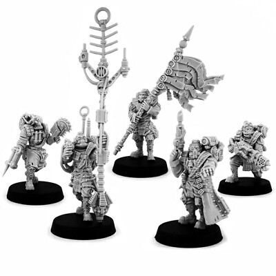 Kill team WH40k wargame exclusive militarum IMPERIAL DEAD DOGS COMMAND SQUAD (5)
