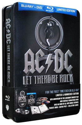 Ac/dc: Let There Be Rock (Blu-Ray + Dvd) (Blu-Ray) (Steel Case Limited (Blu-Ray)