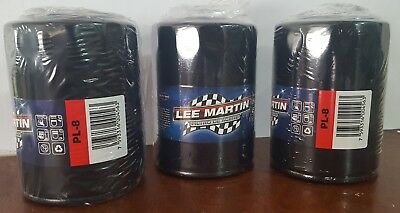 """Interchange Wix 51515. Oil Filters Lee Martin PL-8. """"A PACK OF THREE""""..!!"""