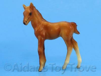 Breyer Stablemates Model Horse - 5702 TB Standing Foal - Original Old Plastic G1