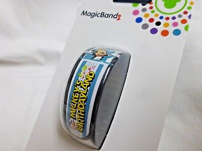 Disney Limited Release YesterEars Mickey's Birthdayland MagicBand 2 Magic Band