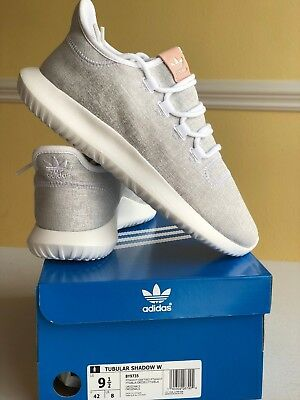 569d12225562 adidas Tubular Shadow W Womens Trainers Off White  BY9739. Sz 9.5 100%  AUTHNTIC