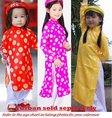 Useful New Vietnamese Chinese Traditional Dress For Kids Boys Ao Dai Tre Em Tet Viet Baby & Toddler Clothing