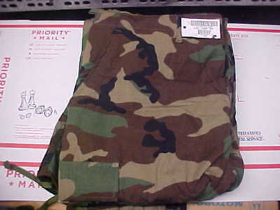 NEW Large Long Pants Trousers Hot Weather Woodland Camouflage Combat BDU CCU #18