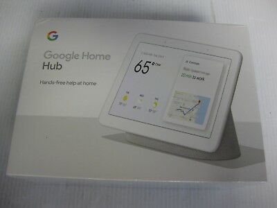 Google Home Hub Charcoal Smart Speaker Screen Hands Free Home Automation NEW