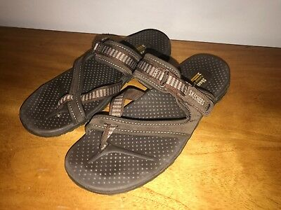 fa24c0a7fab2 SKECHERS OUTDOOR LIFESTYLE brown Sandals womens sz 7. (S5P) -  19.95 ...