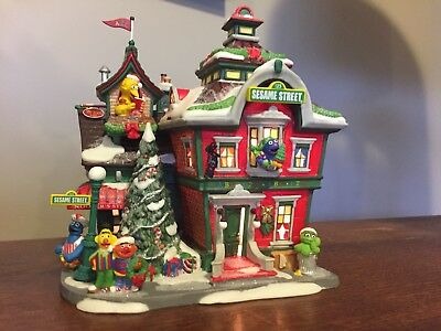 Department 56 North Pole Series- Sesame Street At The North Pole #56799
