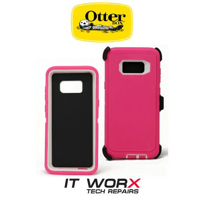 Samsung Galaxy S8 Otterbox Defender Pink Case Cover