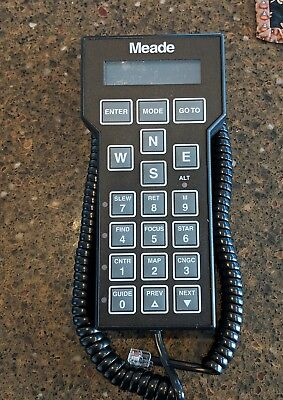 Meade LX200 Hand Controller for LX200 Telescopes VERY GOOD CONDITION