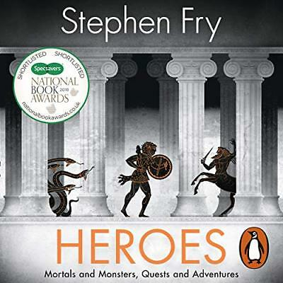 Heroes: Mortals and Monsters, Quests an.. by Stephen Fry - Audiobook