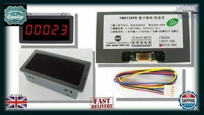 0.56inch Red LED Digital Display Punch Electronic Counter DC12V-24V 5digit NA600