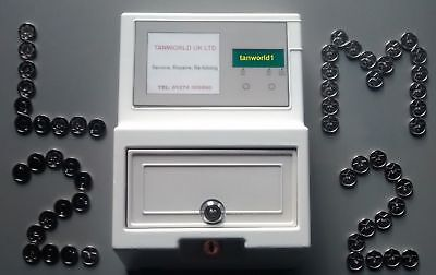 Sunbed Tokens M2 silver compatible with L2 sunbed tanning token meter machine
