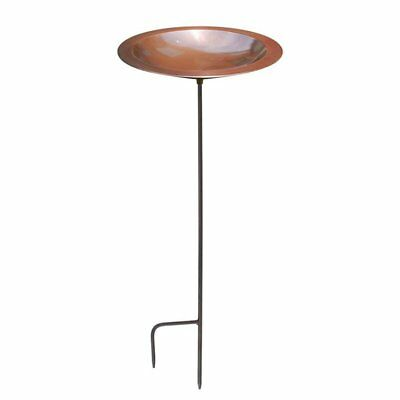Achla Designs Classic II Bird Bath, Antique Copper