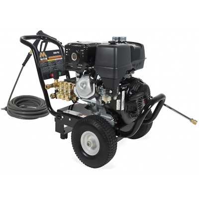 Mi-T-M Professional 4000 PSI (Gas-Cold Water) Pressure Washer w/ Honda GX390 ...