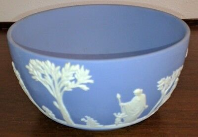 Wedgwood Blue Jasperware Small Bowl - Excellent Condition