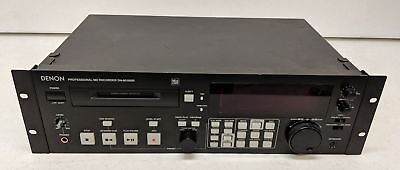 1999 Denon DN-M1050R Professional MiniDisc MD Recorder (AS IS PARTS)