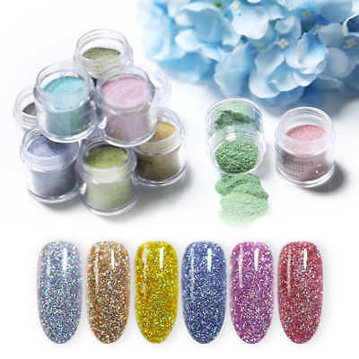 BORN PRETTY 10ml Holographic Dipping System Powder Without Lamp Cure Nail Art