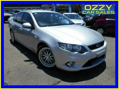 2010 Ford Falcon FG XR6 Silver Automatic 5sp A Sedan