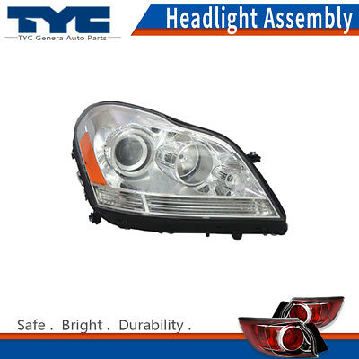TYC LEFT HEADLIGHT Assembly for 2007-2012 Mercedes-Benz