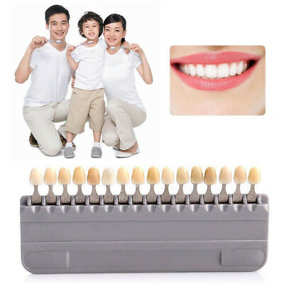 New style Porcelain Tooth Teeth Dental Materials VITA 16 Color Shade Guide Tools