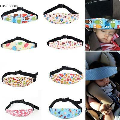 Baby Car Safety Seat Belt Secure Strap Kids Travel Sleep Aid Head Band H1PS