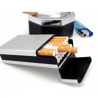 New Hot Cigarette-Tobacco Cigar-Case Holder Pocket Box Container Aluminum #HD3