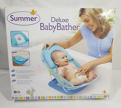 Summer Deluxe Infant Baby Bather #18604 0-3 Months (<9 kg) NEW