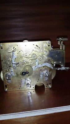 Vintage Franz Hermle Clock Movement 351-030  Made In  W. Germany