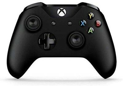 Genuine Wireless Microsoft XBOX ONE Gamepad Game Controller Black