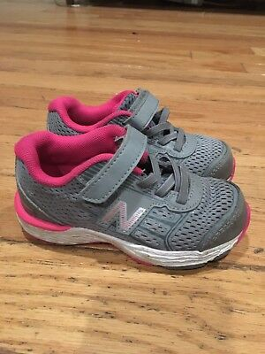 latest style of 2019 dependable performance variety styles of 2019 NEW BALANCE TODDLER Girl Tennis Shoes 8 M Grey Pink - $15.00 ...