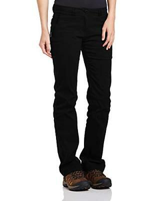 Craghoppers Damen Outdoor Reise Kiwi Pro Stretch Hose gefüttert (36|Black)