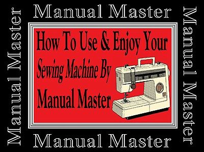 VX890 Jones Brother sewing machine instruction A4 size Manual