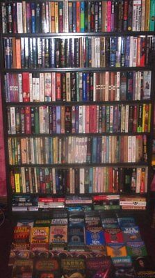 Inv Collection (425 Paperbacks Most Vg Mystery Adv. Sci Fi Fantasy Bookstore Lot