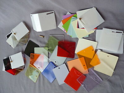 KARTELL Farbmuster Design Möbel Color Samples 1,3 kg collectible