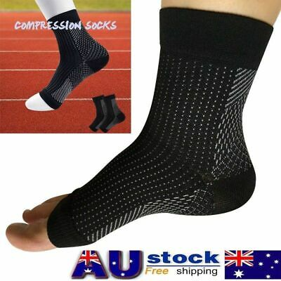 Compression Sleeve Arthritis Sore Foot Angel Socks For Achy Heel Pain relief AUS