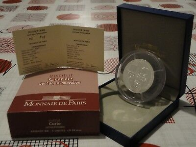 50 euros BE France 2009 - INSTITUT CURIE CENT ANS D'INNOVATION TRES RARE !!