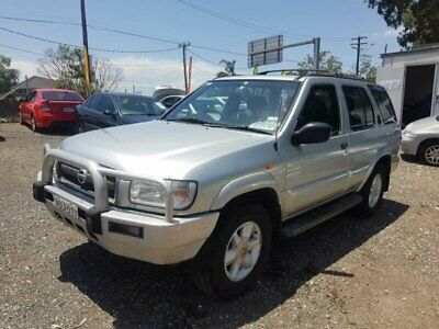 2002 Nissan Pathfinder WX II TI Silver Automatic 4sp A Wagon